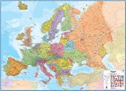 Large Wall Map of Europe